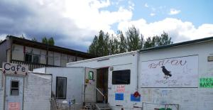 Cinnamon Rolls and other comfort food after Liard River. We signed the trailer.