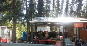Robert Service Campground livingroom, Whitehorse